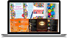 Веб-дизайн печатной рекламы